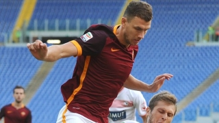 Edin Dzeko would like greater support from Roma fans