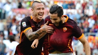 Arsenal scouts watched Roma defender Kostas Manolas last night