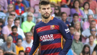 Sevilla fans again whistle Barcelona defender Pique