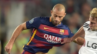 Juventus agree personal terms with Barcelona defender Javier Mascherano
