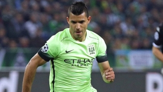 Sergio Aguero beaming after 5-goal Man City performance