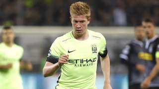 Man City star De Bruyne highlights importance of maintaining momentum