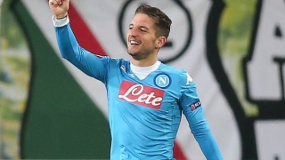 Man Utd, Liverpool shocked by buyout clause for Napoli star Mertens