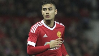 Valencia midfielder Andreas Pereira admits he hopes for Man Utd future