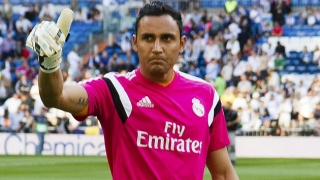 Man City make opening bid for Real Madrid keeper Keylor Navas