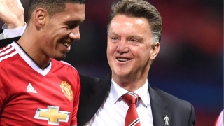 Man Utd defender Smalling: It was great working with LVG