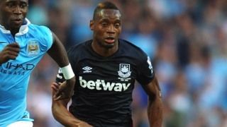 West Ham striker Diafra Sakho taking Rennes medical