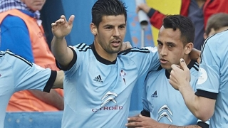 Man City target Nolito snapped in Manchester