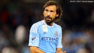 Conte happy to have Pirlo at Chelsea training