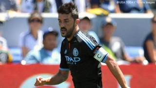 David Villa announces he's leaving New York City FC