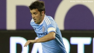 David ​Villa extends deal with New York City