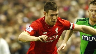 Milner happy to take no.7 pressure of Liverpool off others