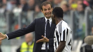 Juventus coach Allegri happy with Frosinone win