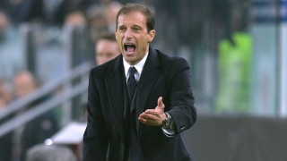 Juventus coach Allegri wary of improving Roma