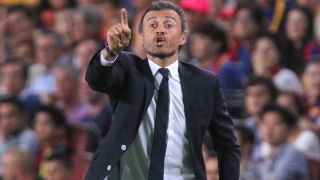 Barcelona coach Luis Enrique happy with form, but...