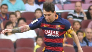 Barcelona coach Enrique delighted for 2-goal Messi
