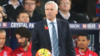 Crystal Palace boss Alan Pardew pleased with Swansea point