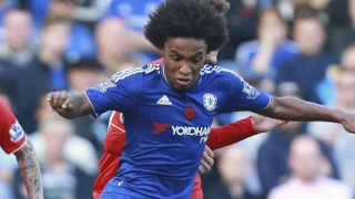 Chelsea midfielder Willian happy with form after Arsenal win