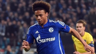 Schalke midfielder Leroy Sane tells friends he wants Barcelona move