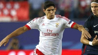 DEAL ON? Benfica president jets to England for Man Utd Goncalo Guedes meeting