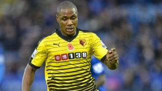 Ex-Watford striker Ighalo welcomes Barcelona interest