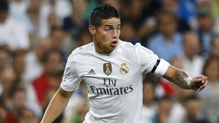 Man Utd leave €40M James bid on Real Madrid table