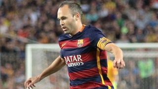 Barcelona captain Andres Iniesta facing two months out