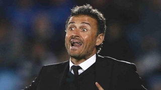Barcelona coach Luis Enrique enjoys title swipe at Real Madrid