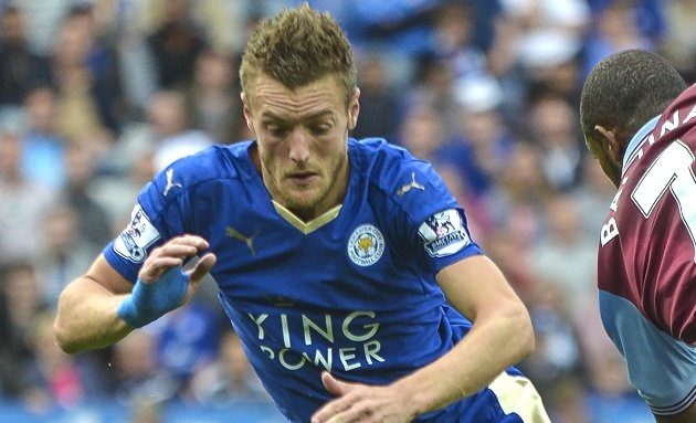 Leicester inform Man Utd, Chelsea of Vardy asking price