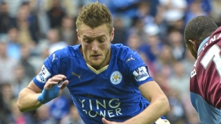 ​Striker Vardy relaxed over Leicester leading the pack