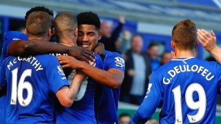 Everton boss Roberto Martinez delighted with debutant trio