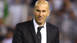 Real Madrid coach Zidane driving their pursuit of Luis Campos