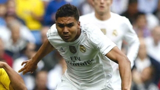 Casemiro delighted with Real Madrid training return