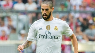 Real Madrid chief Butragueno delighted for 2-goal Isco