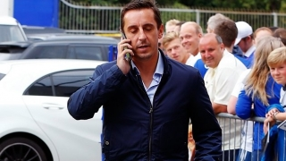 Another wobbler! Neville stroppy over Valencia market work