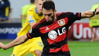 Agent confirms AC Milan 'contact' for Bayer Leverkusen midfielder Hakan Calhanoglu