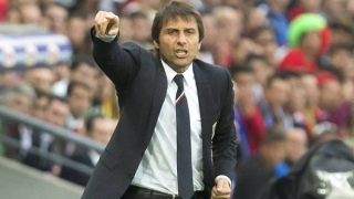 Italy coach Antonio Conte happy working daily with his squad