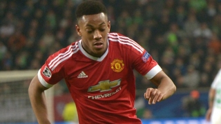 Martial concerned about Man Utd starting spot