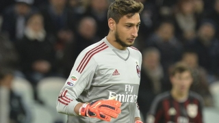 AC Milan keeper Donnarumma fronts media after howler