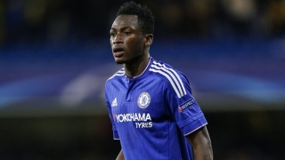Chelsea fullback Baba Rahman on his way to Stade Reims