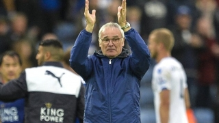 Ranieri urges Leicester to continue looking up