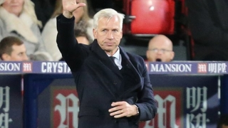 Crystal Palace boss Pardew admits England ambition