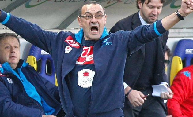REVEALED: Sarri in London to shake hands on Chelsea contract