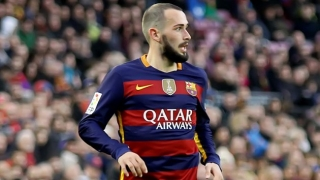Agents for Barcelona fullback Aleix Vidal in talks with Man Utd, Liverpool