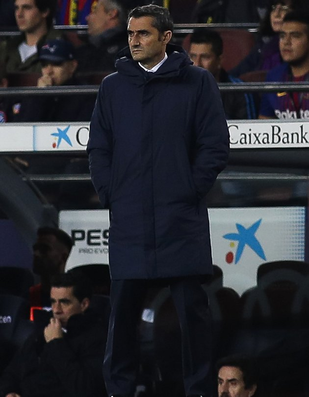 Barcelona coach Valverde 'proud' beating Atletico Madrid