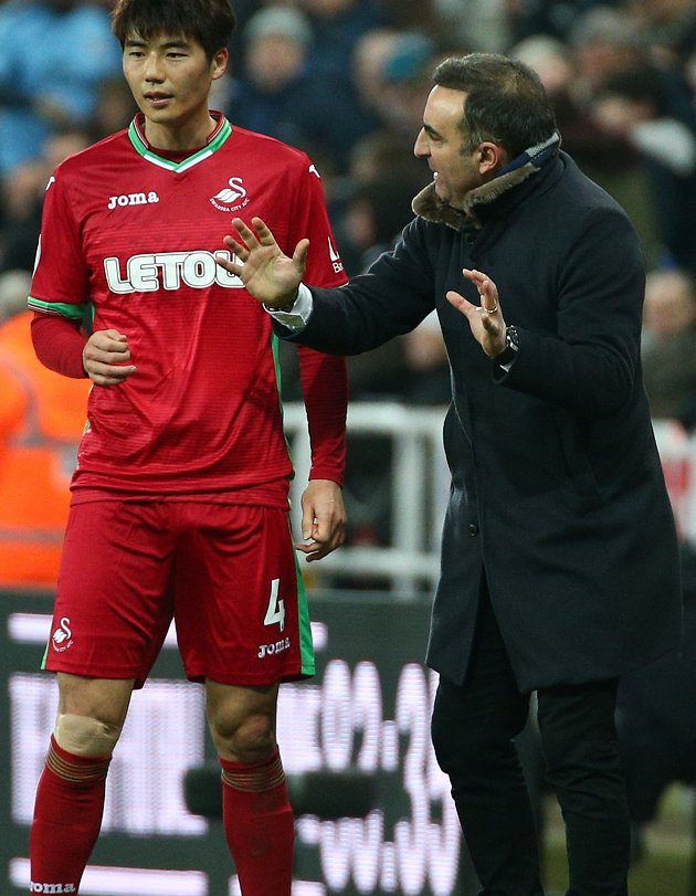 ​Swansea manager Carvalhal confident team are moving 'out of the emergency department' (use all)