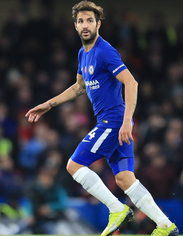 Chelsea ace Hazard jokes: Cesc more upset with Conte hook than me!