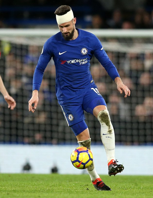 Giroud: Arsenal page over - easy to leave for Chelsea
