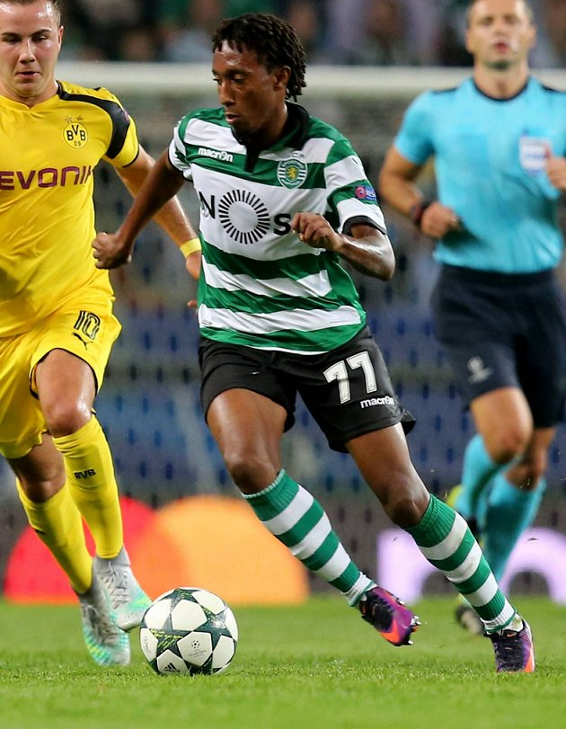 Arsenal, Chelsea and Tottenham in Sporting CP contact about Gelson price