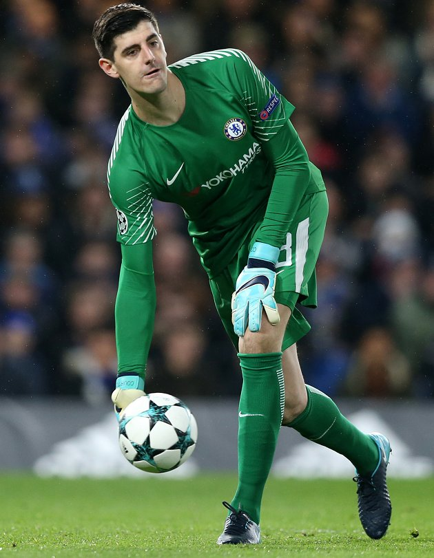 ​Chelsea goalkeeper Courtois: We don't deserve exit. Mistakes cost us